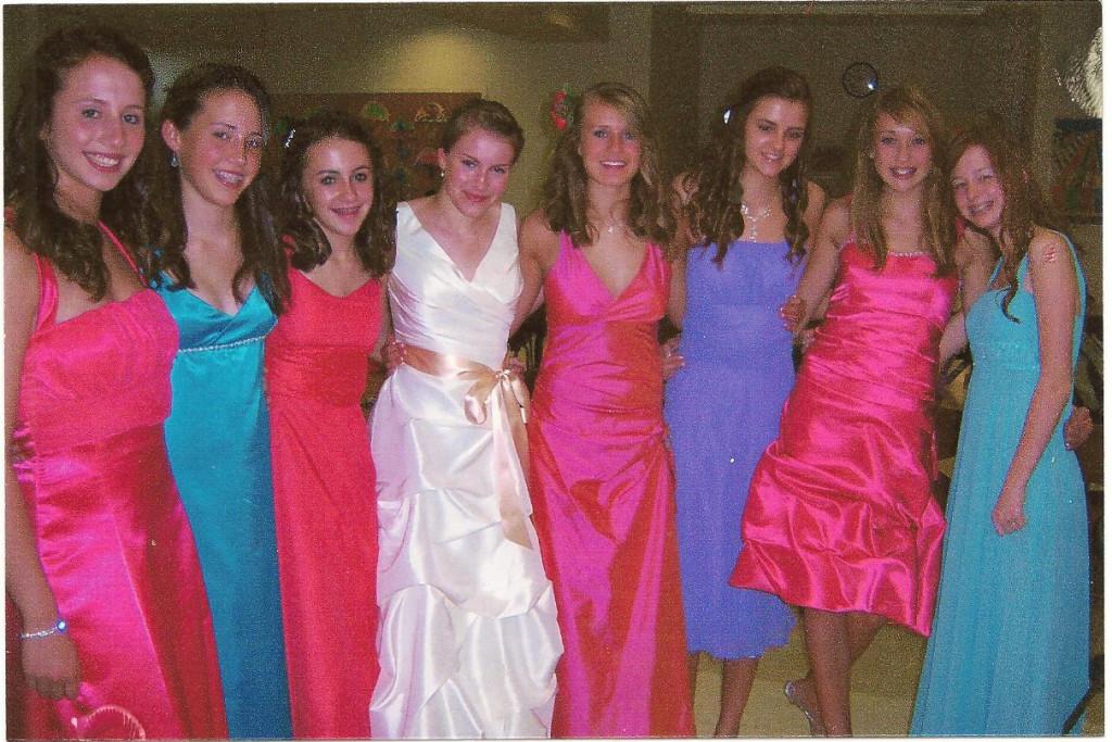 Prom fashions
