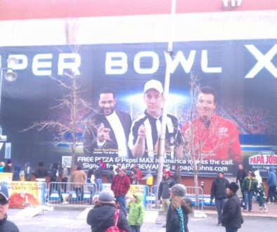 Erin Young Designs work in Super Bowl Village