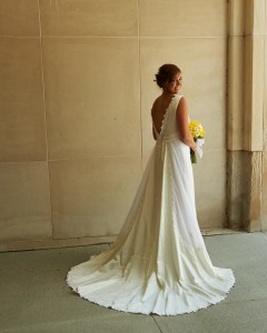 Beautiful re-do of a vintage gown