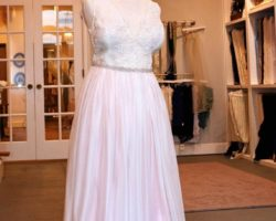 Whitney Young Wedding gown